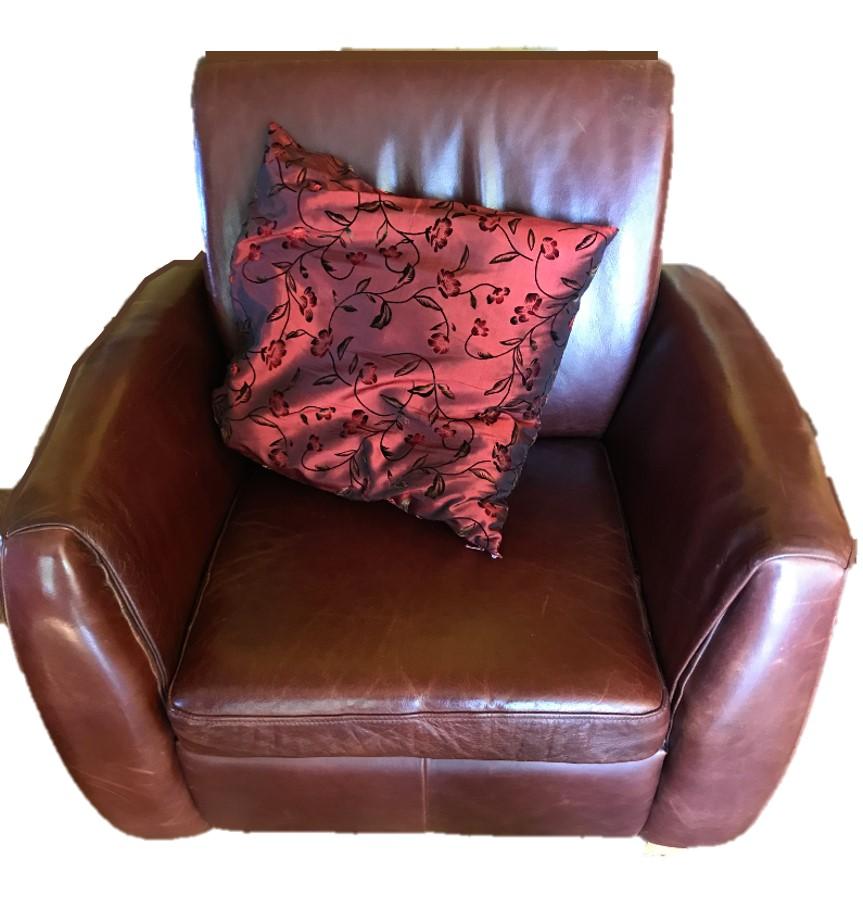 Sessel von oben