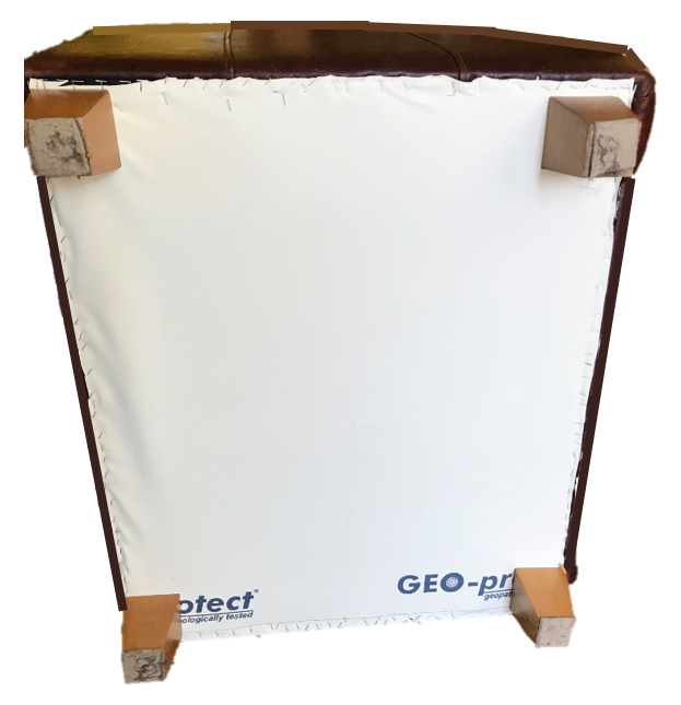 Sessel mit Geo-Protect Folie